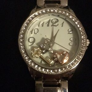 Avon Forever Sparkling Charms Watch